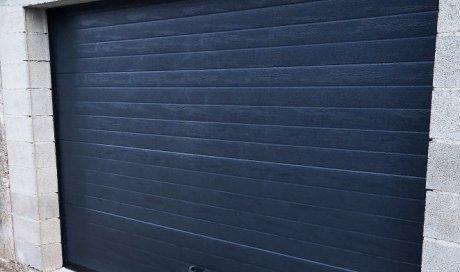 Fourniture et pose d'une porte de garage sectionnelle motorisée dans le Gard
