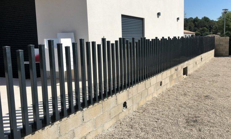 Réalisation de clôtures extérieures Nîmes